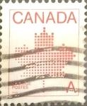 sello : America : Canadá : Intercambio crf 0,20 usd 30 cents. 1981