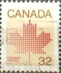 Sellos de America - Canadá -  Intercambio 0,20 usd 32 cents. 1983