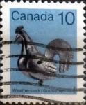 Sellos de America - Canadá -  Intercambio 0,20 usd 10 cents. 1982