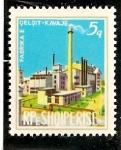 Stamps : Europe : Albania :  Fabrica de cemento.
