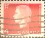 Sellos de America - Canadá -  Intercambio 0,20 usd 4 cents. 1963
