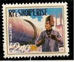 Stamps : Europe : Albania :  Soldador de tuberias.