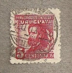 Stamps America - Uruguay -  Jose Pedro Varela