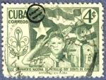 Sellos de America - Cuba -  Campamento Nacional de Patrullas Scouts - Cuba