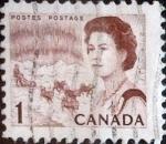 Sellos de America - Canadá -  Intercambio 0,20 usd 1 cents. 1967