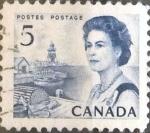 Sellos de America - Canadá -  Intercambio 0,20 usd 5 cents. 1967