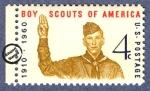 Sellos del Mundo : America : Estados_Unidos : 50º Aniversario Boy scouts de norteamerica