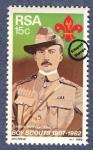 Sellos de Africa - Sudáfrica -  Sir Baden Powell
