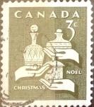 Sellos del Mundo : America : Canadá : Intercambio 0,20 usd 3 cents. 1965
