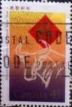 Stamps Canada -  Intercambio cxrf2 0,25 usd 45 cents. 1997