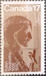 Stamps Canada -  Intercambio 0,20 usd 17 cents. 1981