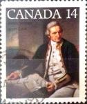 sello : America : Canadá : Intercambio 0,20 usd 14 cents. 1978