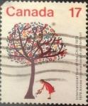 Sellos de America - Canadá -  Intercambio 0,20 usd 17 cents. 1979
