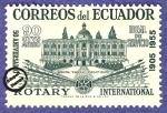 Sellos de America - Ecuador -  50º Aniversario del Rotary Internacional (1905-1955)