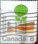 Stamps Canada -  Intercambio 0,20 usd 8 cents. 1974