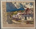 sello : America : Canadá : Intercambio crf 0,20 usd 17 cents. 1981