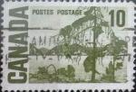 Sellos de America - Canadá -  Intercambio 0,20 usd 10 cents. 1967