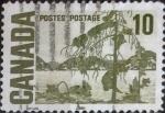 Stamps Canada -  Intercambio 0,20 usd 10 cents. 1967