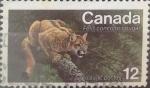 sello : America : Canadá : Intercambio crf 0,20 usd 12 cents. 1977