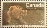Stamps Canada -  Intercambio 0,20 usd 12 cents. 1977