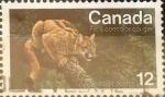 Sellos de America - Canadá -  Intercambio 0,20 usd 12 cents. 1977