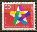 Sellos de Europa - Alemania -   50 años de la Organización Internacional del Trabajo.
