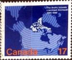 Sellos de America - Canadá -  Intercambio crxf 0,20 usd 17 cents. 1980