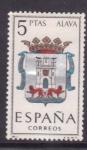 Stamps Spain -  Alava