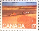 Sellos de America - Canadá -  Intercambio 0,20 usd 17 cents. 1980