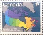 Sellos del Mundo : America : Canadá : Intercambio cxrf2 0,20 usd 17 cents. 1981