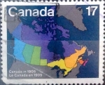 Stamps : America : Canada :  17 cents. 1981