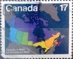 Sellos del Mundo : America : Canadá : 17 cents. 1981