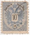 Sellos de Europa - Austria -  Y & T Nº 43 (3)