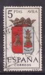 Sellos de Europa - España -  avila
