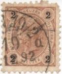 Stamps Austria -  Y & T Nº 47 (3)