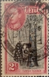 Stamps : Asia : Sri_Lanka :  Intercambio 0,95 usd 2 cents. 1944