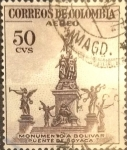 Sellos del Mundo : America : Colombia : Intercambio 0,20 usd 50 cents. 1954
