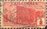 Stamps : America : Colombia :  Intercambio 0,20 usd 1/2 cents. 1940