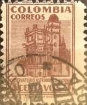 Sellos de America - Colombia -  Intercambio 0,20 usd 5 cents. 1946