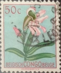 Stamps : Africa : Democratic_Republic_of_the_Congo :  Intercambio 0,20 usd 50 cents. 1952