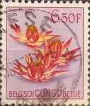 Stamps Democratic Republic of the Congo -  Intercambio 0,20 usd 6,50 francos 1952