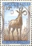 Stamps : Africa : Democratic_Republic_of_the_Congo :  Intercambio cxrf 0,20 usd 10 cents. 1959