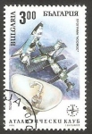Stamps Bulgaria -  3577 - Programa espacial Club Atlantique