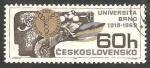 Stamps Czechoslovakia -  1708 - 50 anivº de la Universidad de Brno