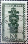 Stamps : Africa : Democratic_Republic_of_the_Congo :  Intercambio 0,20 usd 70 cents. 1948