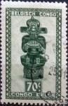 Sellos de Africa - República Democrática del Congo -  Intercambio cxrf 0,20 usd 70 cents. 1948