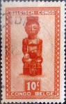 Sellos de Africa - República Democrática del Congo -  Intercambio cxrf 0,20 usd 10 cents. 1948