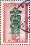Stamps : Africa : Democratic_Republic_of_the_Congo :  Intercambio 0,20 usd 2,50 francos 1947