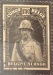 Stamps : Africa : Democratic_Republic_of_the_Congo :  Intercambio 0,80 usd 1,50 francos 1934