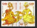 Stamps Cuba -  Brasiliana